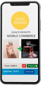 mCommerce Page